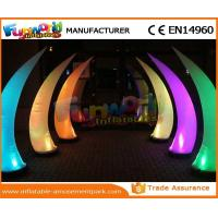 Wholesale PVC Coated Nylon / PVC Tarpaulin Inflatable Lighting Decoration Cone For Backyard from china suppliers