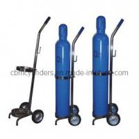 Buy cheap Portable Oxygen Cylinder Trolleys for Small Gas Cylinders from wholesalers