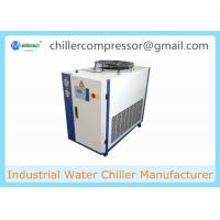 Buy cheap 3HP Small Water Chiller for Plastic Blow Molding Machine With Water Tank from wholesalers