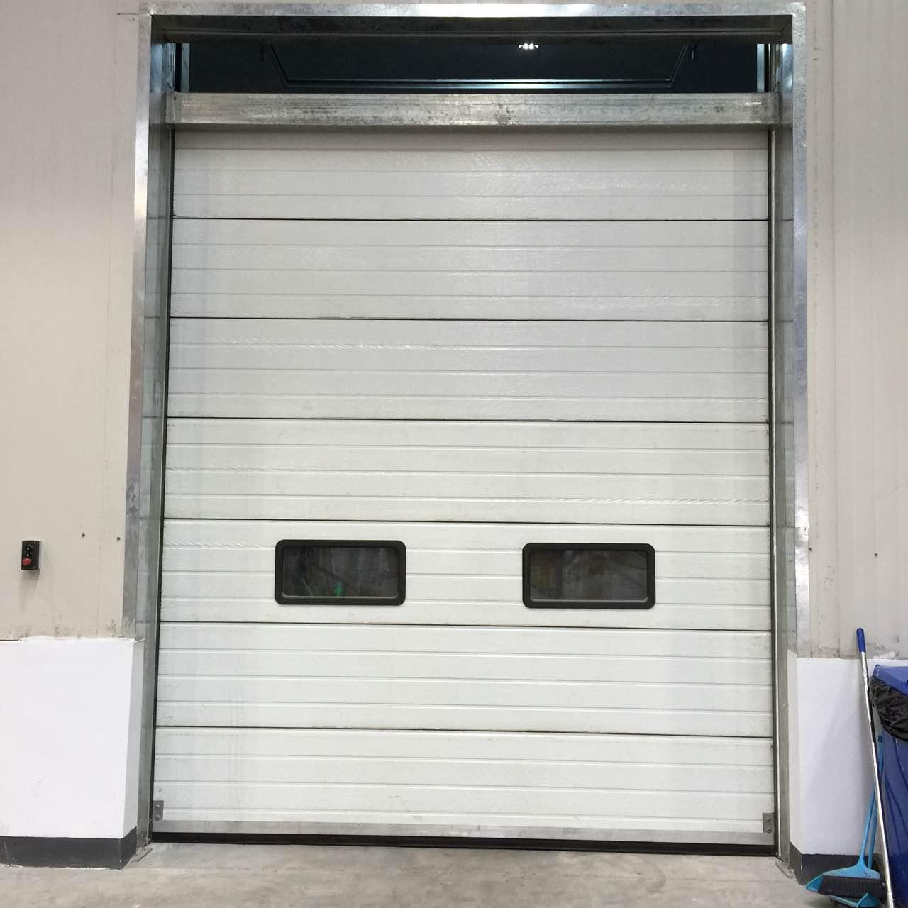 Buy cheap Fast Vertical Lifting Steel Sectional Garage Doors Closing Speed 0.8m/s from wholesalers
