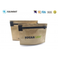 Buy cheap 35 Grams Stand Up Kraft Paper Child Resistant Bags from wholesalers