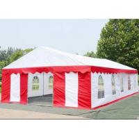 Buy cheap Wear Resistance Large White Tarp TC1010 UV Protection For Wedding Tent from wholesalers