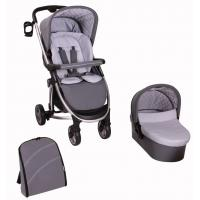 Buy cheap baby stroller 3 in 1 with EN and high quality mama bag and car seat from wholesalers