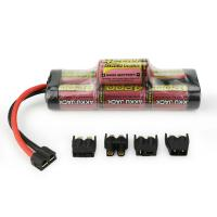 Buy cheap MELASTA 8.4v 4200mAh 7-Cell Hump NiMH Battery with Universal Plug System for RC Racing Car from wholesalers