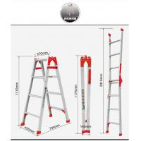 Buy cheap Multifunctional Folding Step Ladder High Strength Building Contruction Cleaning from wholesalers
