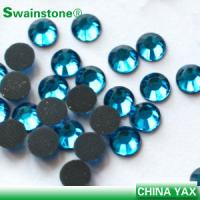 Buy cheap T0811 Good quality aquamarine ss10 hot fix rhinestone,dmc hot fix rhinestone,girl hot fix rhinestone wholesaler from wholesalers