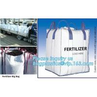 Buy cheap customizable PP u-panel baffle big bag /coated white woven PP jumbo bag/ventilated 4 panel baffle bag/all colors availab from wholesalers