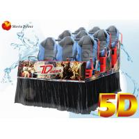 Buy cheap Dynamic Movie Theater Equipment 5d Driving Simulator With 3dof 6dof Dynamic Seater from wholesalers