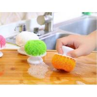 Buy cheap Wear Resistant Stainless Steel Scrubber With Handle For Household Cleaning from wholesalers