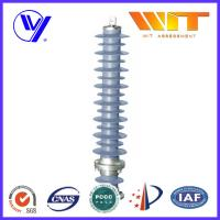 Wholesale Composite Gapless Substation Lightning Arrester 60KV With Anchor Ear from china suppliers