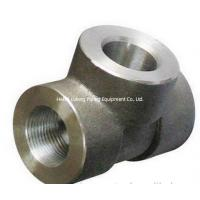 Buy cheap Forged Welded Fittings Stainless Steel Pipe Fittings Socket Tee from wholesalers