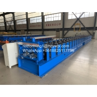 Buy cheap Metal Wall Panel / Floor Metal Deck Roll Forming Machine from wholesalers