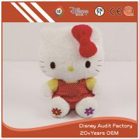 China KT Cat Plush Toys Filling 100% PP Cotton Embroidery Pattern on sale