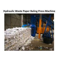 Buy cheap Hydraulic Waste Paper Baling Press Machine from wholesalers