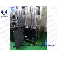 Buy cheap Outdoor UAV/anti- Drone Signal Jammer WIFI 2.4G /5.8G GPSL1-L5 433MHz Jamming rang up to 3000m from wholesalers