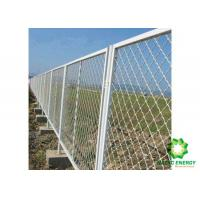 Buy cheap Metal Safety Wire Fence Panels / Galvanized Safety Fence Protect Construction Site from wholesalers