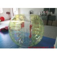 Stripe Color Inflatable Bubble Ball Heat Sealed 7.5kg - 10kg Eco Friendly