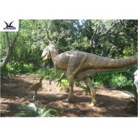 Wholesale High Simulation Animatronic Giant Dinosaur Statue Water / Corrosion Resistant from china suppliers