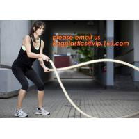 Buy cheap 12 Power Packed Battle Rope Exercises, Crossfit Battle power ropes for training, GYM rope rings for fitness training from wholesalers