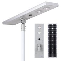 Buy cheap All in One Outdoor Solar LED Lights 50W 5000lm Aluminum Outside Motion Sensor Landscape Lamps from wholesalers