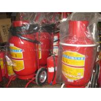 Buy cheap new design 150LBS wheeled dry powder fire extinguisher from wholesalers