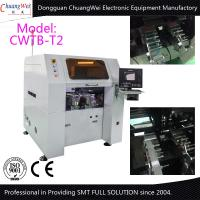 High Precision ±0.05mm TPJ 1408 High Speed Sticker Machine For LED Manufactures