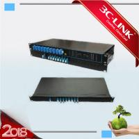 """Buy cheap 8 Channel Unit DWDM C Band Channels Into Passive DWDM System For 19"""" Rack Type Installation / 1 HU from wholesalers"""
