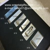 Buy cheap Stainless steel money wallet clips, polish steel money clips wholesaler from wholesalers