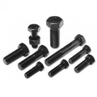 China Customized Color High Strength Fastener , Engineering Double Hexagon Head Bolt on sale