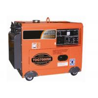 Buy cheap 7kva Small Portable Generators , 3000rpm / 3600rpm Engine Diesel Portable Generator Air Cooled from wholesalers