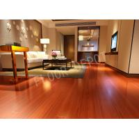 Buy cheap Maple Color Eir 8mm HDF Living Room Laminate Flooring , Commercial Laminate Flooring Carb2 Waxed from wholesalers