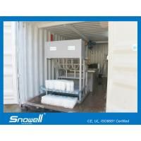 Buy cheap 1000KG/Day Containerized Block Ice Machine For Fresh Preservation Of Aquatic Products from wholesalers