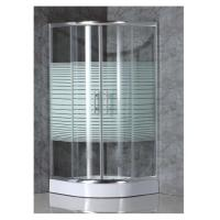 Wholesale simple shower enclosure with strip glass from china suppliers