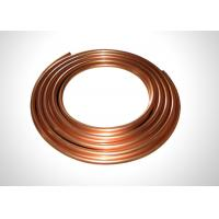 Buy cheap 7/8 Copper Refrigeration Tubing Soft Annealed Pancake Coil Copper Pipe 99.9% Copper from wholesalers