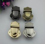 Buy cheap Nickel free bag accessories metal zinc alloy light gold push locks for handbags from wholesalers