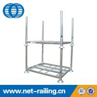 Buy cheap warehouse commercial mobile stack pallet post rack from wholesalers