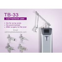 Buy cheap 0.1mm Spot Size Continuous Work Mode Erase Unwanted Brown Spots Co2 Laser Fractional Machine from wholesalers