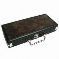 Buy cheap Wine Gift Box, Made of Aluminum, 2 Apartments, OEM Orders are Welcome from wholesalers