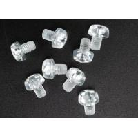 China Clear Plastic Phillips Round Head Metric Micro Screws For Electronics M3 X 5 on sale