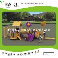 Wholesale Wooden Series Outdoor Playground Equipment (KQ10153A) from china suppliers