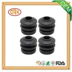 Buy cheap black customized neoprene heat resistance rubber bushing from wholesalers