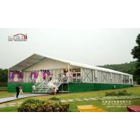 Buy cheap Large Capacity wedding tent marquee, 1000 peoples wedding tent, Luxury wedding tent marquee from wholesalers