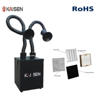 Wholesale Salon 260m³/H Suction Arm Soldering Fume Extractor from china suppliers
