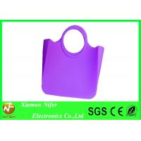 Buy cheap Soft Candy Color Silicone Beach Bag /  Popular Silicon Hand Bags for Girls Gifts from wholesalers