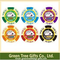 Buy cheap customized poker chip with your logo abs dice pokerchip casino poker chips from wholesalers