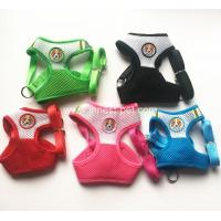 Wholesale 2018 new pet products colorful mesh dog harness with doggies, small dogs pet harness from china suppliers