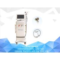 Buy cheap Big spt size 23x23mm 755 808 1064nm laser diode laser hair removal machine from wholesalers