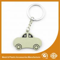Wholesale Car Shape Custom Metal Keychains Nickel Roller / Nickel Satin from china suppliers
