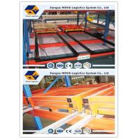 China Conventional Push Back Rack Deep Four Pallet Racking Storage For Logistics Centers on sale