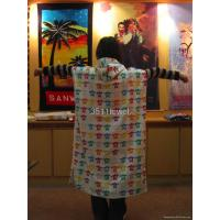 Buy cheap 100% Cotton Velvet Poncho from wholesalers